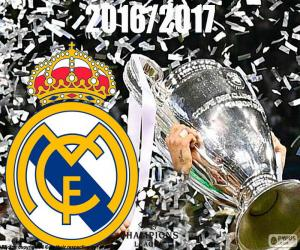 Puzle Real Madrid, Champions 2016-2017
