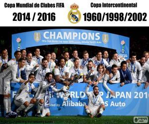 Puzle Real Madrid, Copa FIFA 2016