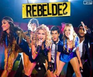 Puzle RebeldeS é um grupo musical brasileiro, surgido na telenovela brasileira Rebelde
