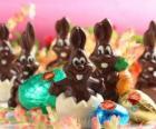 Chocolate coelhos