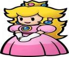 Linda princesa com sua coroa