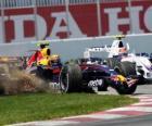 Mark Webber pilota seu F1