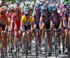 Lance Armstrong no pelotão