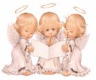 Três anjos cantando