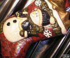 Bota do Natal cheia de presentes e adornos