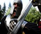 Guerreiro lutando uma batalha