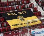 Bandeira de Hull City A.F.C.