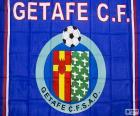 Getafe C.F. escuro azul bandeira e escudo