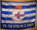 Deportivo de La Coruña bandeira