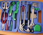 Caixa de ferramentas aberta