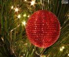 Bola de Natal brilhante