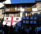 Bandeira de Bolton Wanderers F.C.