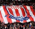 Bandeira de Stoke City F.C.