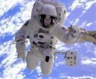 Astronauta missão espacial