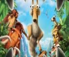 Protagonistas da Ldade do Gelo - A Era do Gelo - Ice Age