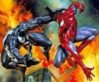 Fighting Spiderman ou Venom