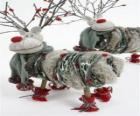 Bonecas Pretty rena de Natal
