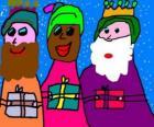 Os Três Reis Magos, Melquior, Baltasar e Gaspar