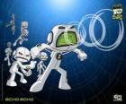 Eco ou Echo Echo é um pequeno alienígena cujo corpo é um amplificador vivo, tem também a capacidade de duplicar-se