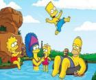 A família Simpson um domingo de verão