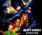 Vários personagens de Batman