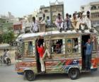 Ônibus, Karachi