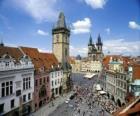 Centro Histórico de Praga, na República Tcheca.
