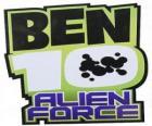 O logotipo do Ben 10 Alien Force