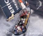 Veleiro na Volvo Ocean Race