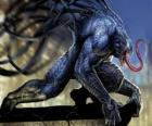 Venom é uma forma de vida simbionte e um dos arquiinimigos do Homem-Aranha