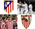 Final da Copa del Rey 09-10, Atlético de Madrid - FC Sevilla