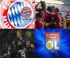Liga dos Campeões - UEFA Champions League 2009-10 semifinal, FC Bayern München - Olympique Lyonnais
