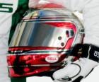 Capacete de Jarno Trulli 2010