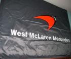 Bandeira do McLaren F1