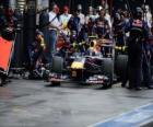 Mark Webber - Red Bull - Melbourne 2010