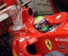 Felipe Massa - Ferrari - Xangai 2010