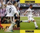 Cristiano Ronaldo, do Real Madrid