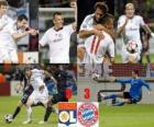 Olympique Lyonnais 0 - Bayerrn Munchen FC 3