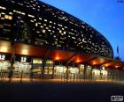 Soccer City à noite