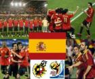 Seleção da Espanha, do Grupo H, África do Sul 2010