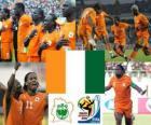 Selecção da Costa do Marfim, o Grupo G, África do Sul 2010