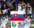 Seleção da Eslováquia, do Grupo F, na África do Sul 2010