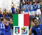 Seleção da Itália, do Grupo F, na África do Sul 2010