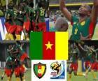Seleção de Camarões, o Grupo E, na África do Sul 2010