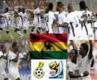 Seleção de Gana, o Grupo D, na África do Sul 2010