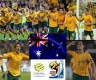 Seleção da Austrália, do Grupo D, na África do Sul 2010