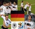Seleção Alemanha, Grupo D, África do Sul 2010