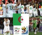 Seleção da Argélia, C Piscina, África do Sul 2010