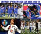 Liga BBVA Getafe FC 6 classificados 2009-2010