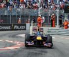 Sebastian Vettel - Red Bull - Monte Carlo de 2010